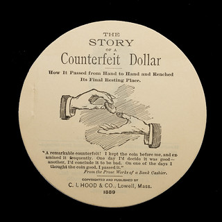 Story of a Counterfeit Dollar