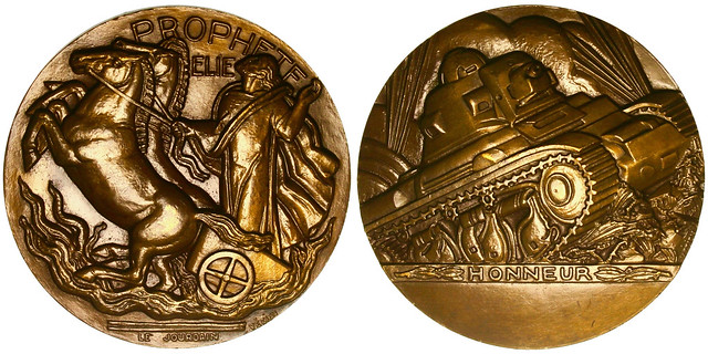 French World War II Bronze Medal