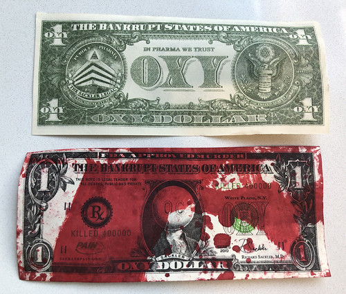 Oxy Dollar Blood Money note