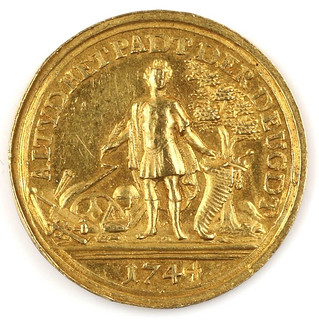 1744 Gold Medal obverse
