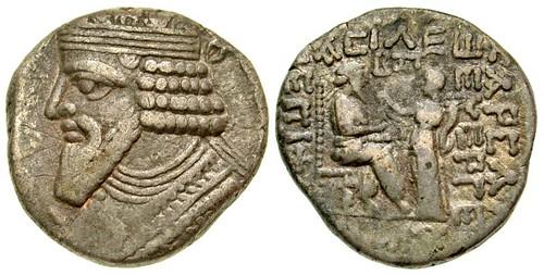 Parthian Kingdom. Gotarzes II Tetradrachm