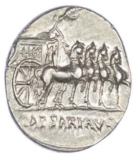 Augustus Denarius obverse