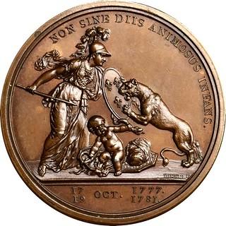 Original Libertas Americana Medal reverse
