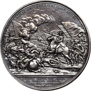 Silver Daniel Morgan at Cowpens Medal reverse