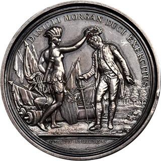 Silver Daniel Morgan at Cowpens Medal obverse
