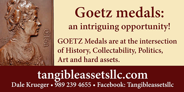 E-Sylum Tangible ad02 Goetz Intriguing Opportunity