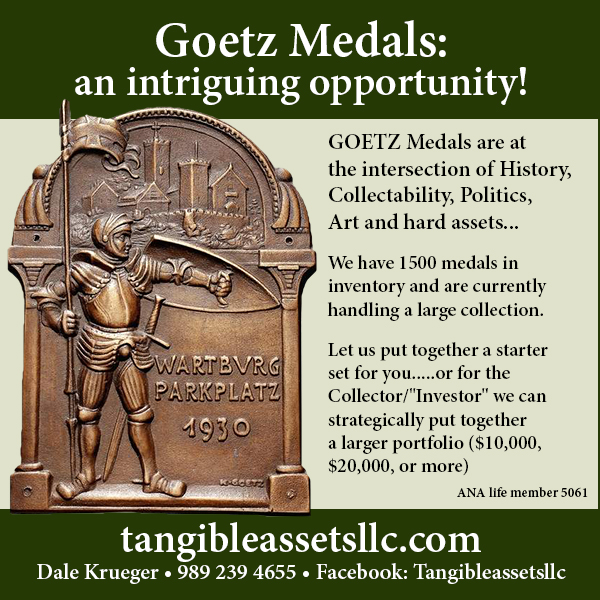 E-Sylum Tangible ad01 Goetz Opportunity