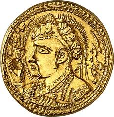 Gold zodiac mohur 30a00