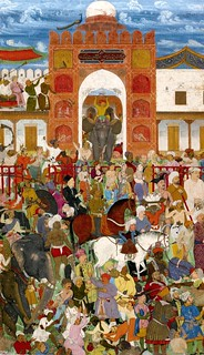 04_8_Abu'l_Hasan._Celebrations_at_the_accession_of_Jahangir._Jahangirnama._St._Petersburg_Album._ca._1615-18,_Institute_of_Oriental_Studies,_St._Petersburg.