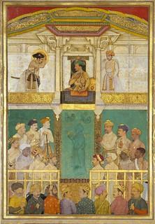 01_'Abid._Jahangir_Receives_Prince_Khurram,_Ajmer,_April_1616_Folio_192v_from_the_Windsor_Padshahnama,_ca._1635-36_The_Royal_Library,_Windsor_Castle