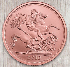 Brilliant Uncirculated coin finish example