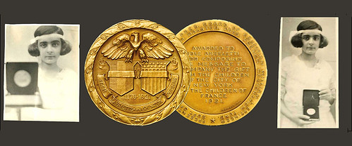 Jole Angeletti gold Foch medal