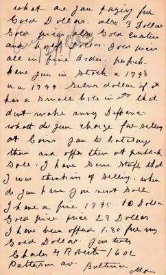 Charles Roberts postcard to Chapmans 12_18_1903