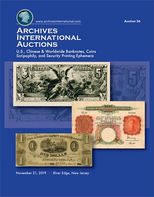 Archives International Sale 56 cover front