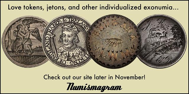E-Sylum Numismagram ad26 Individualized