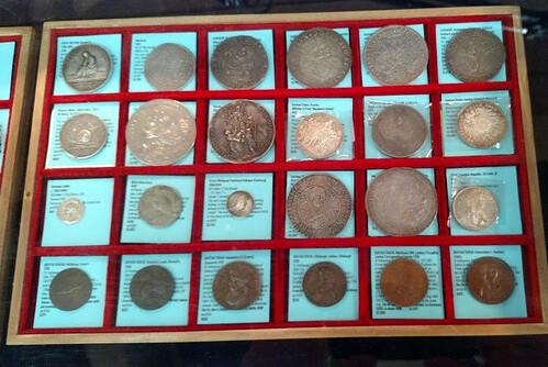 Shanna Schmidt world coin tray