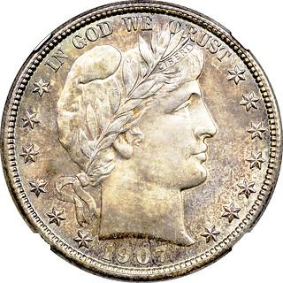 1907-O Half Dollar obverse