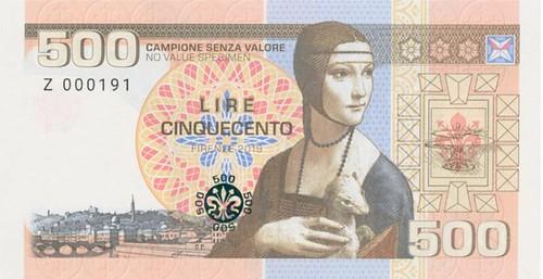 Matej Gábriš fantasy banknote