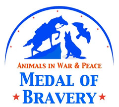 Animals Medal of Bravery logo