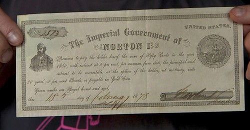 Emperor Norton note