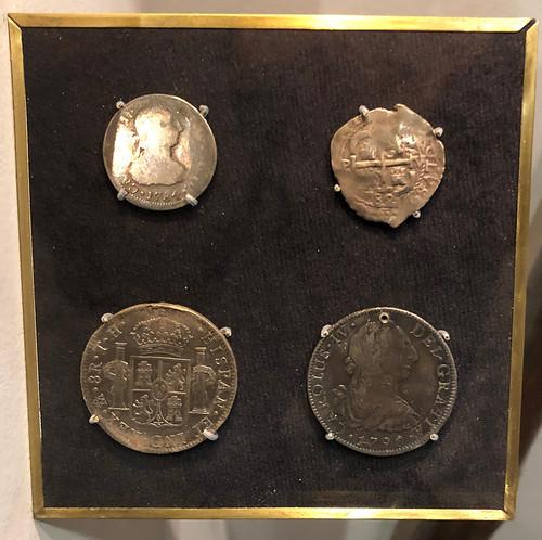 Spanish coins at Missouri History Museum
