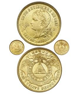 Honduras 20 pesos,