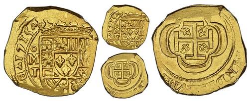 1715J cob 4 escudos,