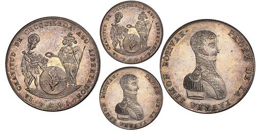 1825 Potosi, Bolivia, 10 soles