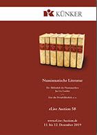 Künker eLive Auction 58 cover