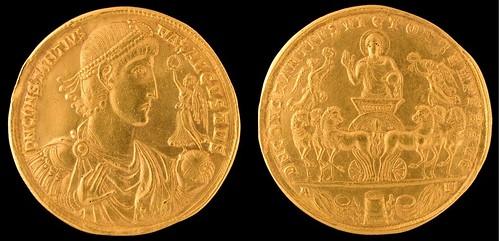 Constantius II Medal Obv. & Rev. (2)