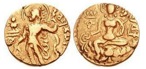 Chandragupta I coin archer type