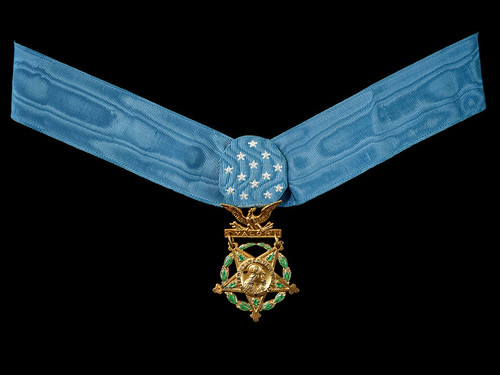 Francis McGraws Medal of Honor obverse