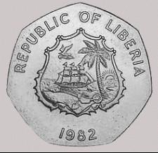 Liberia DOE coin