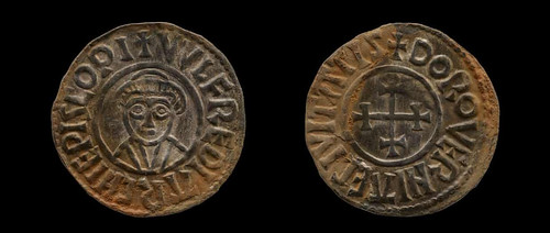 coin from Anglo-Saxon hoard
