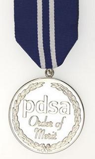 PDSA SILVER MEDAL