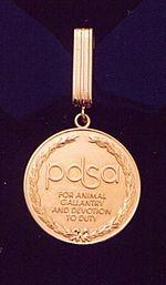 PDSA GOLD MEDAL