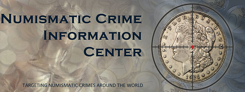 Numismatic Crime Information Center logo
