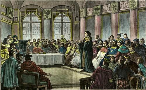 Copernicus presenting in Grudziadz