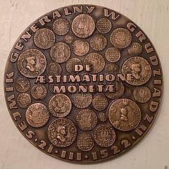 1972 Copernicus visit medal reverse