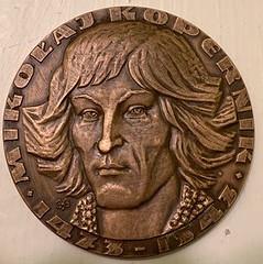 1972 Copernicus visit medal obverse
