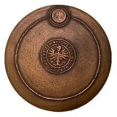 500 anniversary of Copernicus birth medal reverse