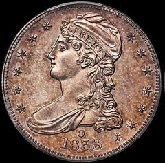 1838-O Half Dollar Cox specimen
