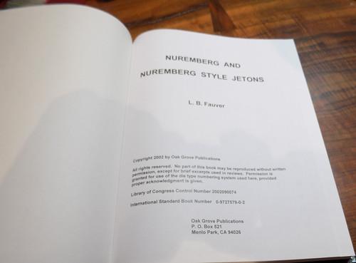 Fauver Nuremberg and Nuremberg Style Jetons title page