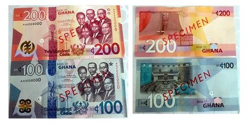 Ghana 2019 Specimen notes
