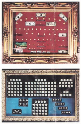 Royal Restaurant coin displays