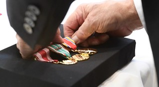 World War II Vet Receives Medals 70 Years Late