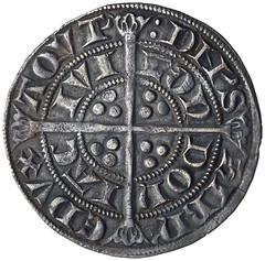 Edward I silver groat reverse