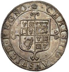 Charles II hammered Halfcrown reverse