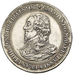 Charles I Pattern Crown obverse