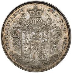 1825 George IV Proof Crown reverse